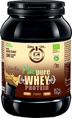 Bio pure whey protein alla vaniglia 700 g BIO senza glutine