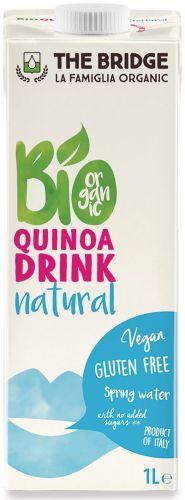 Bio quinoa e riso drink 1 L BIO senza glutine  (min. acquisto 10 pezzi)