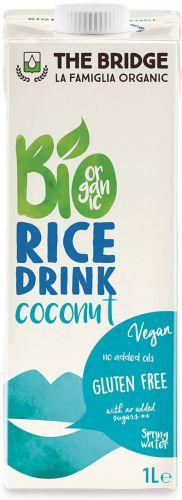 Bio rice drink cocco 1 L BIO senza glutine  (min. acquisto 10 pezzi)
