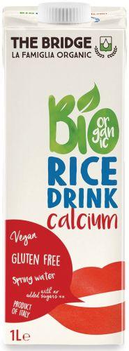 Bio rice drink con calcio 1 L BIO senza glutine  (min. acquisto 10 pezzi)