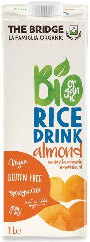 Bio rice drink mandorla 1 L BIO senza glutine  (min. acquisto 10 pezzi)