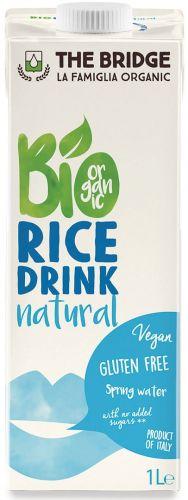 Bio rice drink naturale 1 L BIO senza glutine  (min. acquisto 10 pezzi)