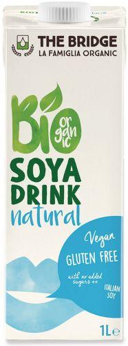 Bio soya drink - bevanda di soia 1 L BIO senza glutine  (min. acquisto 10 pezzi)