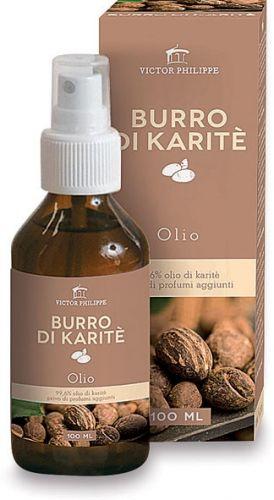 Burro di karitè - olio 100 ml BIO  (6 pezzi)