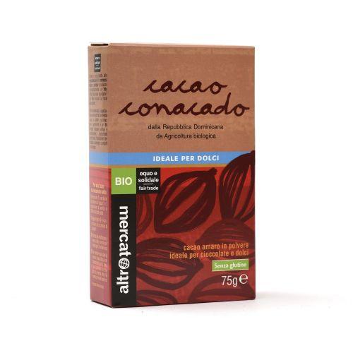 Cacao Conacado amaro in polvere 75 g