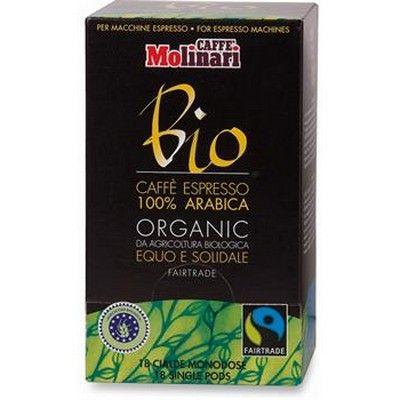 Caffè espresso 100% arabica in cialde 18 pezzi BIO