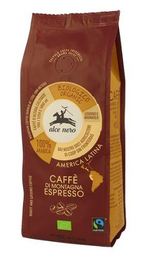Caffè per espresso 100% arabica d'alta montagna 250 g BIO