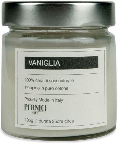 Candela profumata fragranza vaniglia 135 g (6 pezzi)
