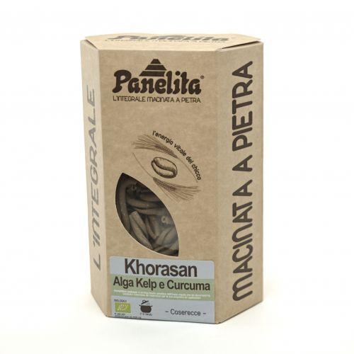 Caserecce Khorasan Con Alghe D'Irlanda E Curcuma 250G (min. acquisto 10 pezzi)