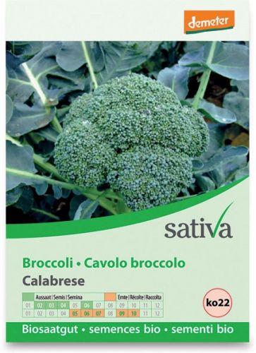 Cavolo broccolo calabrese 1.25 g BIO  (min. acquisto 10 pezzi)
