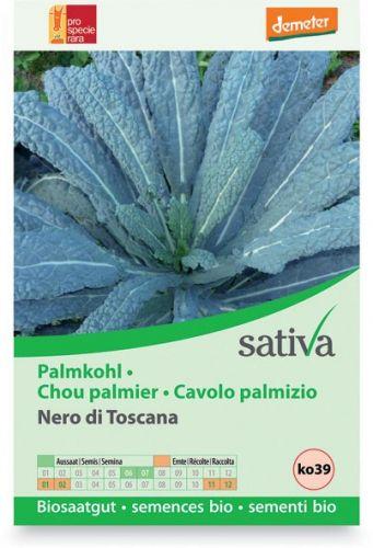 Cavolo palmizio - nero di toscana 1.25 g BIO  (min. acquisto 10 pezzi)