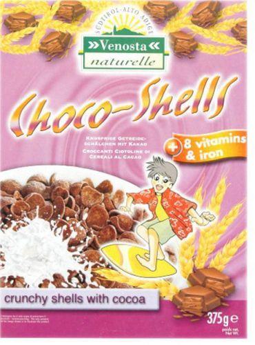 Choco Shells con Vitamine e Ferro 375g