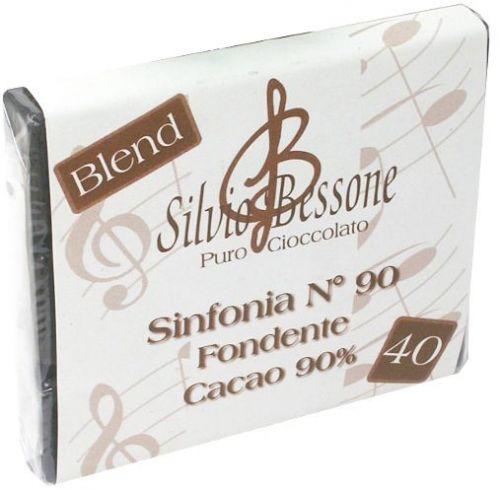 Cioccolato fondente n.40 (90% Cacao) 100g