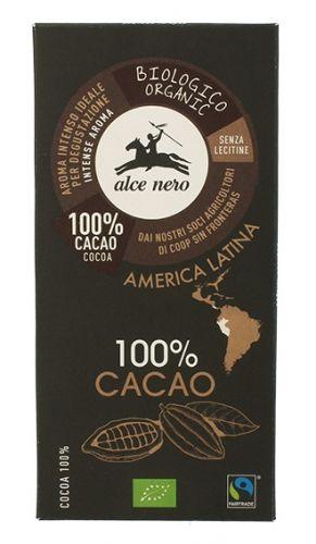 Cioccolato 100% cacao 50 g BIO