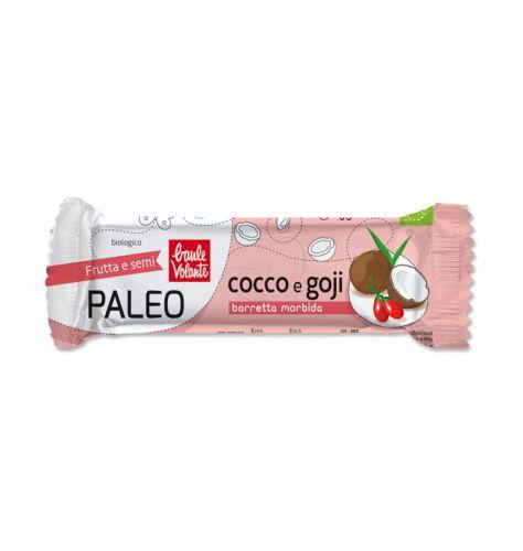 Barretta morbida Cocco e Goji 30g BIO (min. acquisto 10 pezzi)