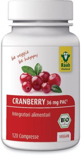Cranberry in compresse 120 BIO  (6 pezzi)