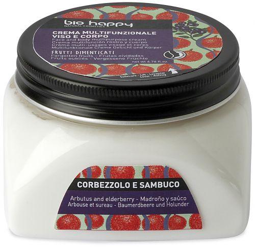 Crema multifunzionale corbezzolo e sambuco 200 ml BIO  (6 pezzi)
