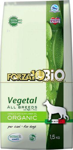 Crocchette vegetali con alghe per cani di tutte le taglie 1.5 kg BIO  (6 pezzi)