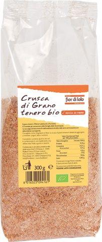 Crusca di grano tenero 300 g BIO