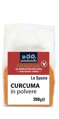 Curcuma in polvere 250g BIO