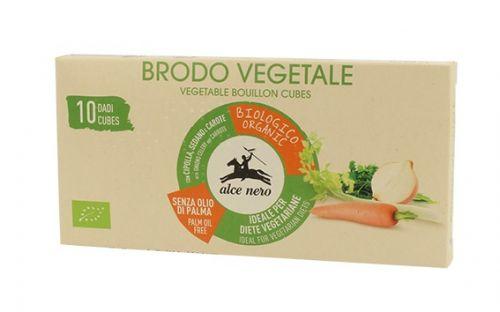 Dado vegetale per brodo senza olio di palma 100 g BIO