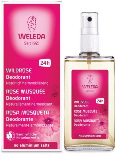 Deodorante alla rosa mosqueta 100 ml BIO  (6 pezzi)