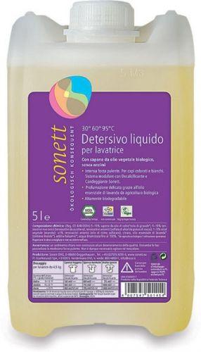 Detersivo liquido lavatrice - ricarica 5 L BIO  (6 pezzi)