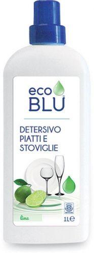 Detersivo liquido per piatti e stoviglie profumo lime 1 L BIO  (min. acquisto 10 pezzi)