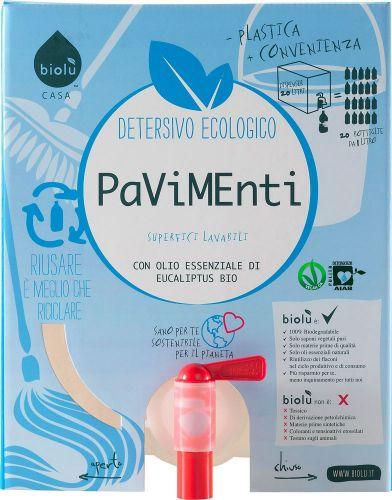Detersivo pavimenti (tanica) 20 L BIO