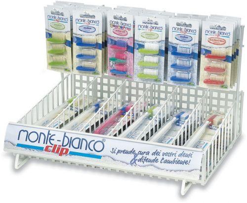 Display spazzolini + testine assortite 42 pz BIO