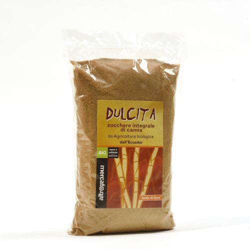 Zucchero Dulcita integrale di canna 1Kg