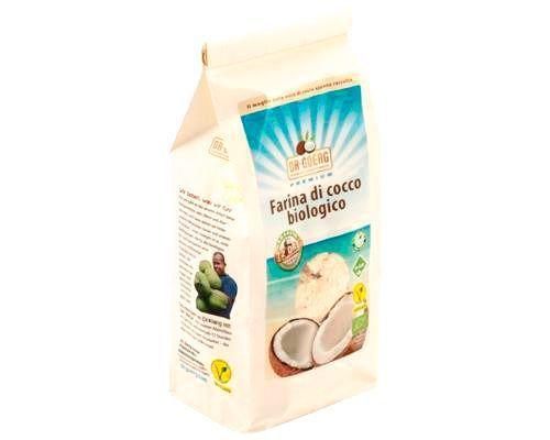 Farina di cocco 600g BIO senza glutine (min. acquisto 10 pezzi)