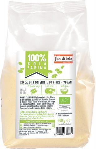 Farina di soia tostata 500 g BIO