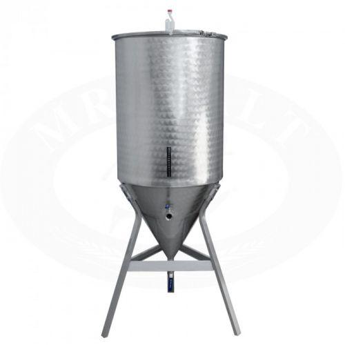 Fermentatore Inox Conico Lt 215