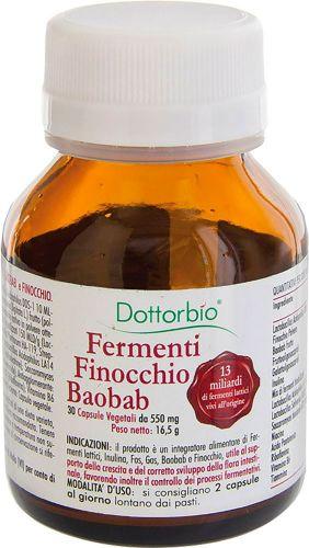 Fermenti finocchio e baobab (30 cpr) 20 g (6 pezzi)