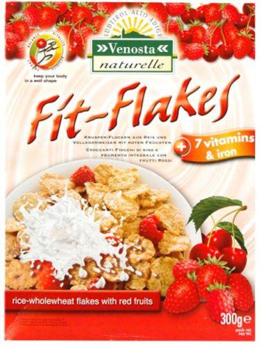 Fit Flakes Frumento, Riso e Frutti Rossi 300g (min. acquisto 10 pezzi)