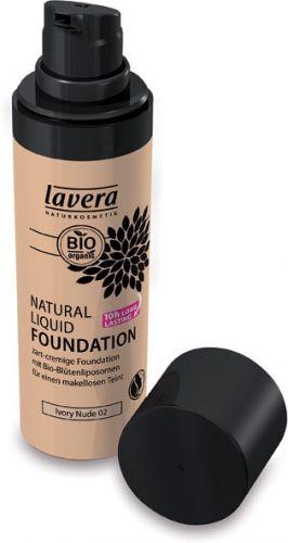 Fondotinta liquido - 02 ivory nude 30 ml BIO  (6 pezzi)