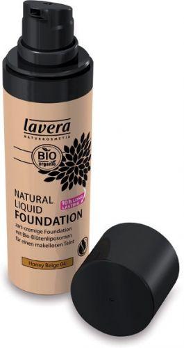 Fondotinta liquido - 04 honey beige 30 ml BIO  (6 pezzi)