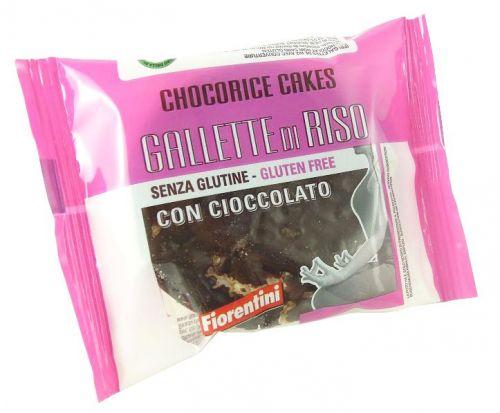 Gallette di riso con cioccolato 30g senza glutine