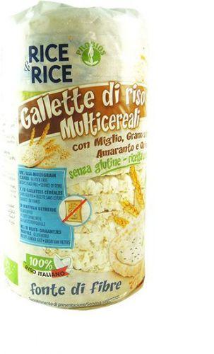 Gallette Multicereali 100g BIO senza glutine