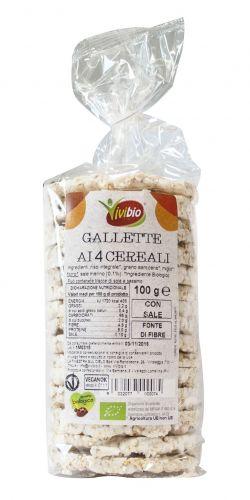 Gallette con 5 Cereali 100g BIO