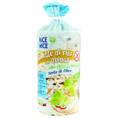 Gallette di Riso con Quinoa 100g BIO senza glutine