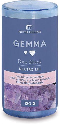 Gemma - antiodorante minerale femminile in stick 120 g BIO  (6 pezzi)
