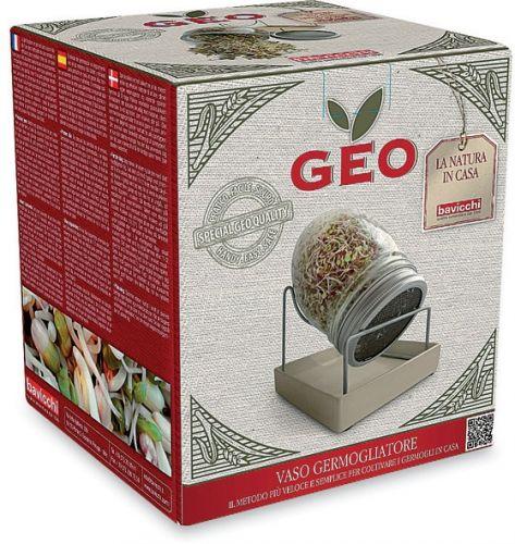 Germogliatore in vetro geo jar 1.5  (min. acquisto 10 pezzi)