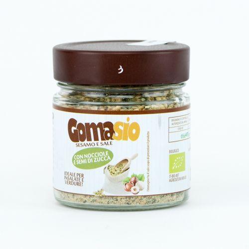 Gomasio Con Nocciole E Semi Di Zucca 120 g (min. acquisto 10 pezzi)