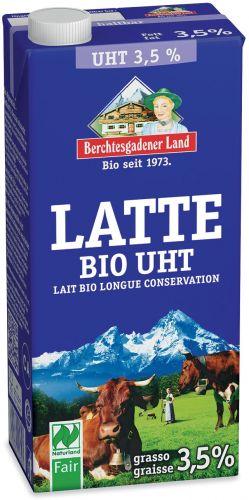 Latte intero uht 1 L BIO  (min. acquisto 10 pezzi)