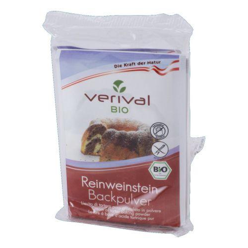 Lievito di Tartaro Puro Granulato Polvere (4x17g) 68g BIO senza glutine