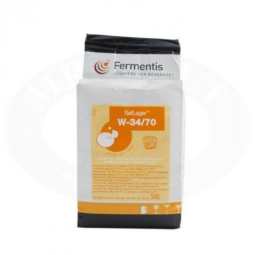 Lievito Secco Fermentis Saflager W-34/70 G 500