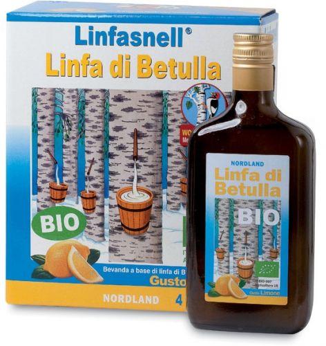 Linfa di betulla - bauletto 4x700 ml BIO