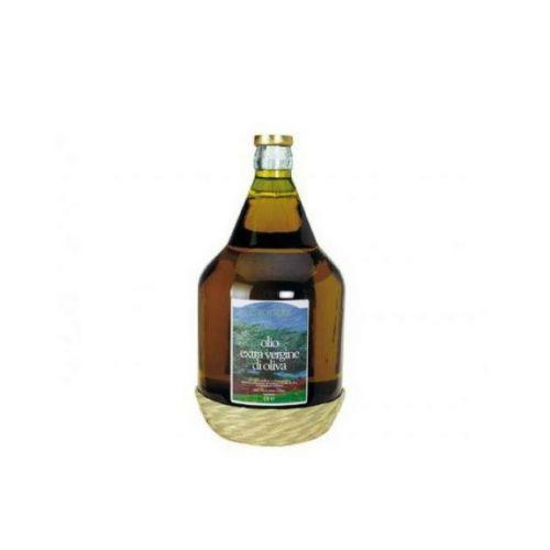 Olio Extravergine di Oliva Italiano estratto a freddo 5 litri BIO - fiasco